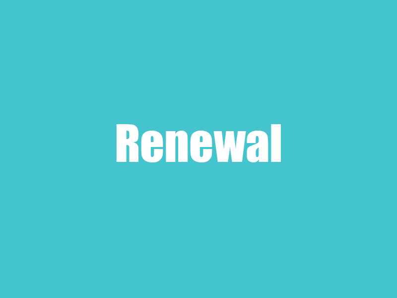 Professional Membership Renewal