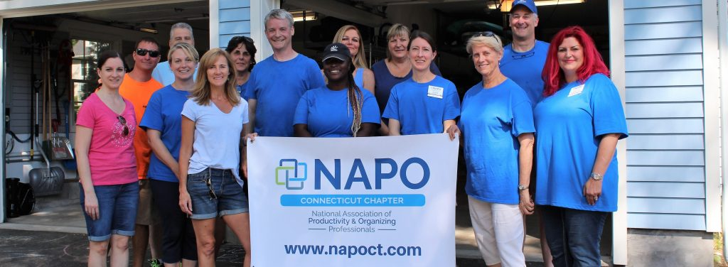 NAPO-CT 2018 Dream Garage Makeover participants