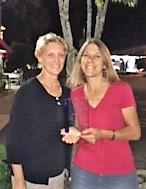 2020 Founder's Award Recipient Leslie Raycraft with founder Judith Ann Kirk